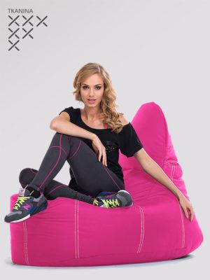fotel deluxe różowy kodura