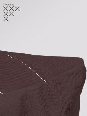 pufa kostka brązowa kodura zoom