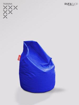 pufa xl niebieska kodura