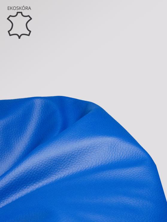 pufa xl ekoskora niebieska