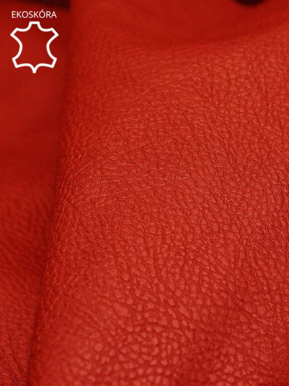 fotel deluxe czerwony ekoskóra zoom