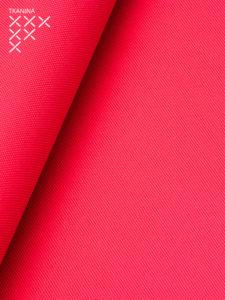 Pufa xl czerwona tkanina