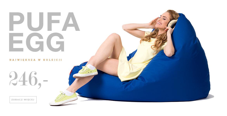 pufa egg niebieska