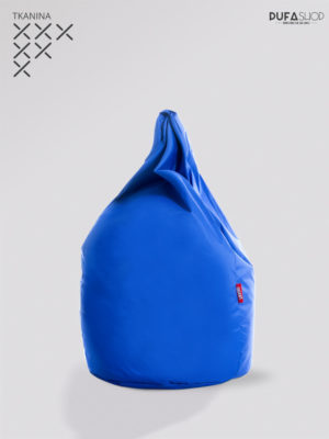 niebieska pufa xl